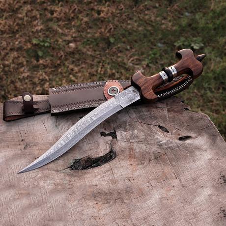 Damascus Khanjarli Dagger