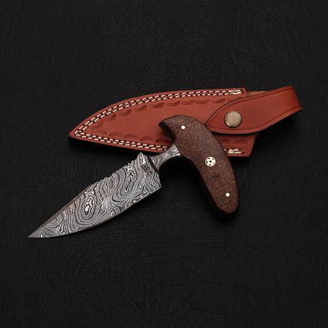 Damascus Push Dagger // Hk0241
