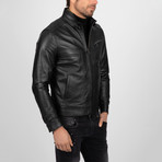 Classic Leather Jacket // Black (XL)