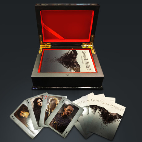 Game Of Thrones Playing Cards // Second Limited Edition (1 Deck // No Box)