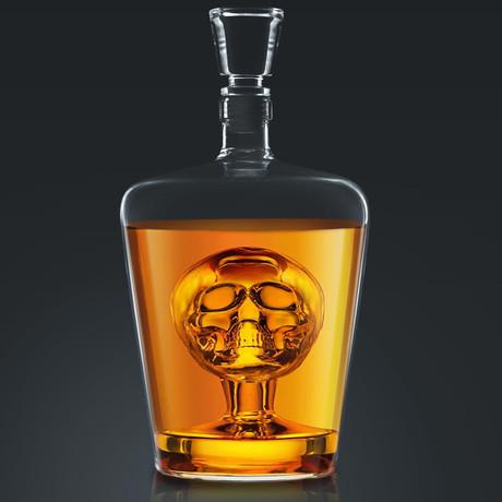 Whiskey Skull // Spirit Glass Decanter
