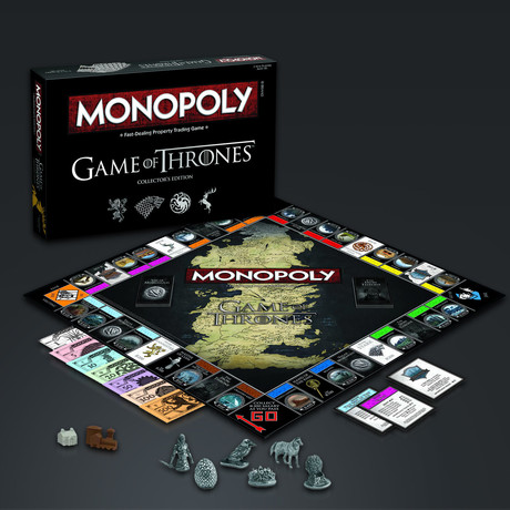 Monopoly // Game Of Thrones // Limited Premium Collector's Edition