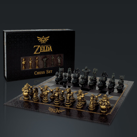 The Legend Of Zelda // Limited Edition Chess Set