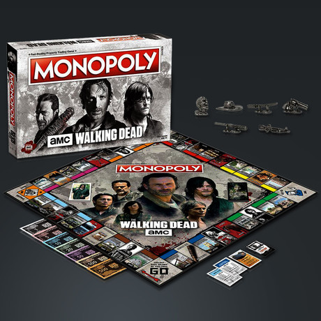 Monopoly// The Walking Dead // Limited Premium Collector's Edition