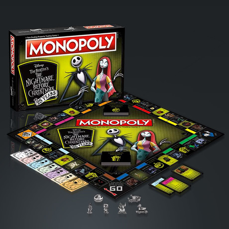 Monopoly// Nightmare Before Christmas // Limited Premium Collector's Edition