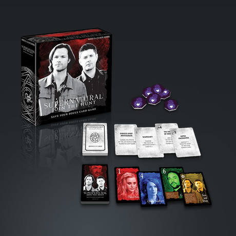 Supernatural //Save Your Souls // BoardCard Game