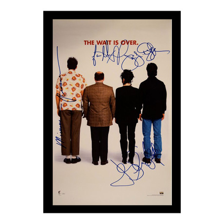 Signed + Framed Poster // Seinfield