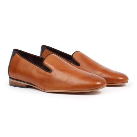 Two Tone Slip-on Dress Shoes // Maple (US: 6)