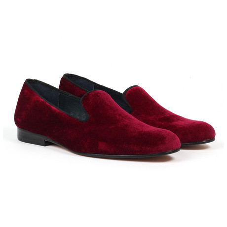 Slip-on Loafers // Burgundy (US: 6)