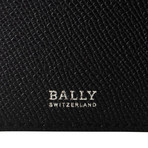 Bally // Calf Leather Bovine Wallet // Navy Blue