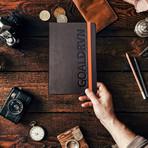 GOALDRVN Planner // Set of 2 (Black + Orange)