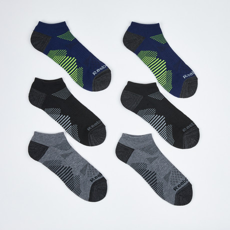 Tom Low Cut Socks // 6-Pack // Assorted