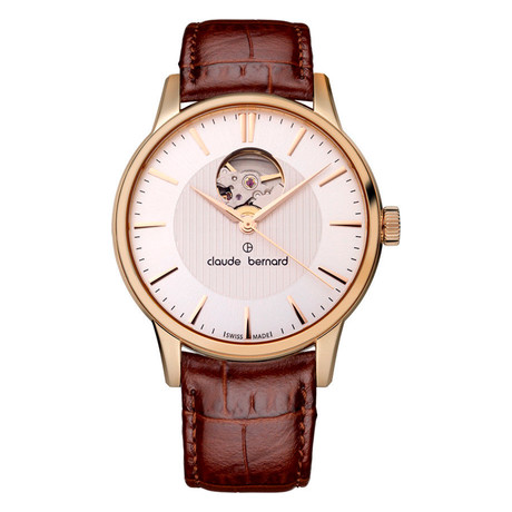Claude Bernard By Edox Classics Open Heart Automatic // 85017.37R.AIR