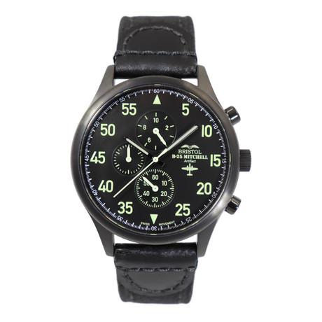 Bristol B-25 Mitchell Chronograph Quartz // BW25G
