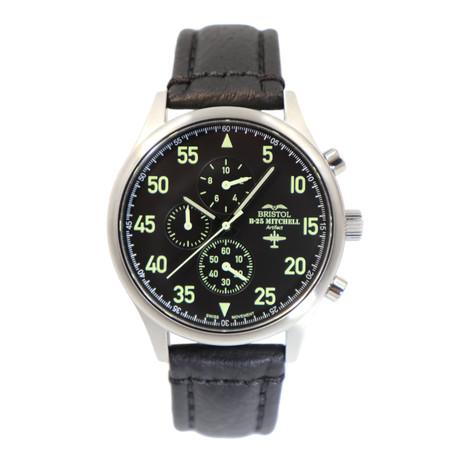 Bristol B-25 Mitchell Chronograph Quartz // BW25H