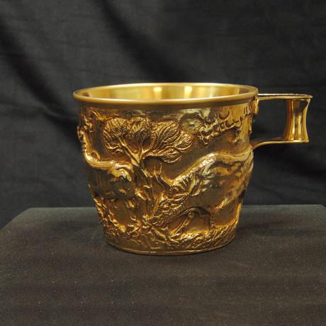 Spartan Gold Vapheio Cup