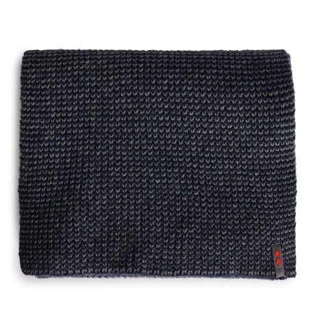 B176 Merino Wool Blend Scarf // Navy