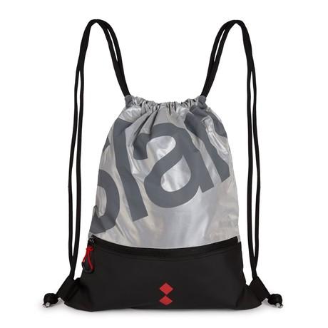 B206 String Backpack // Silver Reflex