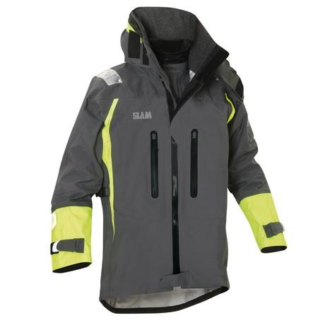 Force 9 Ocean Wave Nylon Jacket // Acciaio (XS)