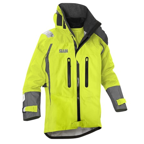 Force 9 Ocean Wave Nylon Jacket // Sunny Lime (XS)
