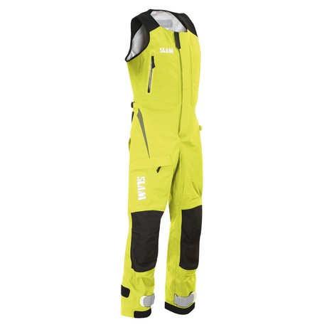 Force 9 Ocean Wave Nylon Overalls // Sunny Lime (XS)