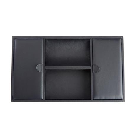 Executive Desk Organizer Tray // Black