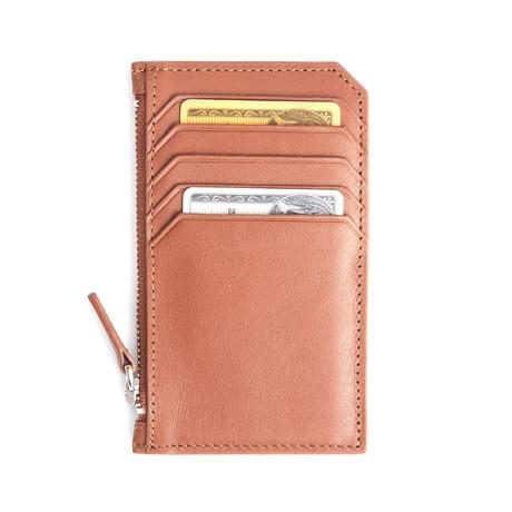 Credit Card Wallet // Tan