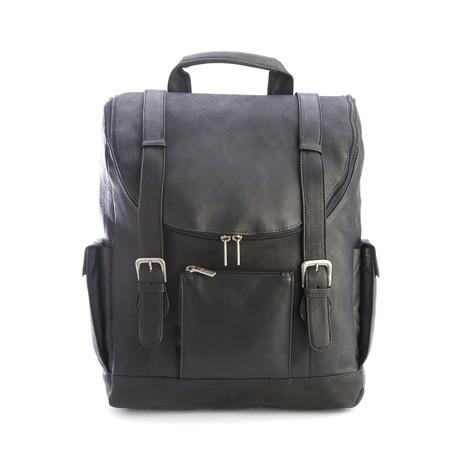 """Backpack + 15"""" Laptop Sleeve // Black"""