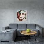 "Angel, Watching The Reincarnation Of Marilyn Monroe // Victor Molev (18""W x 18""H x 0.75""D)"