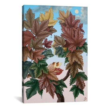 "Flora Autumn // Victor Molev (18""W x 26""H x 0.75""D)"