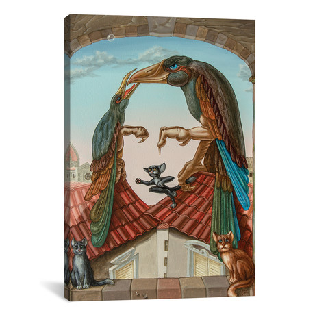 "Mona Lisa - Air (26""W x 18""H x 0.75""D)"