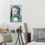 "Mona Lisa -Water // Victor Molev (18""W x 26""H x 0.75""D)"