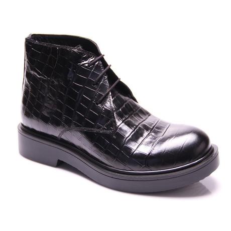 Bernardo Boot // Black Croco (Euro: 40)