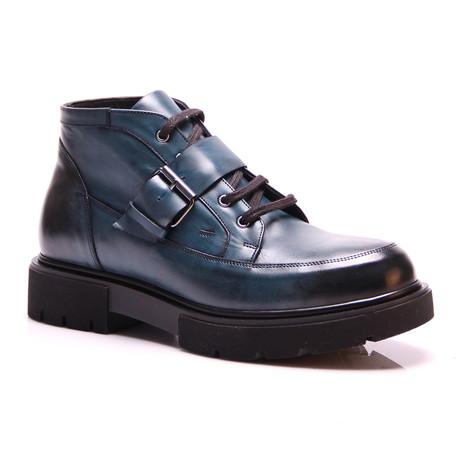 Roman Boot // Dark Blue (Euro: 40)