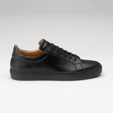 All Leather Sneaker // Black (UK: 7)