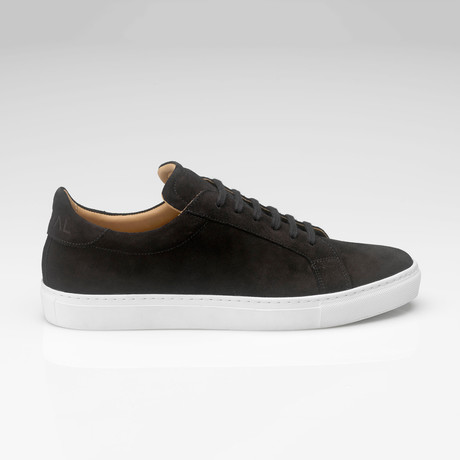 Suede Sneaker // Black (UK: 7)
