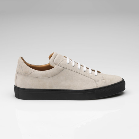 Suede Sneaker // Off-White + Black (UK: 7)