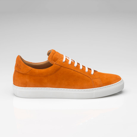 Suede Sneaker // Orange (UK: 7)