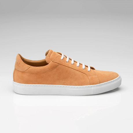 Suede Sneaker // Peach (UK: 7)