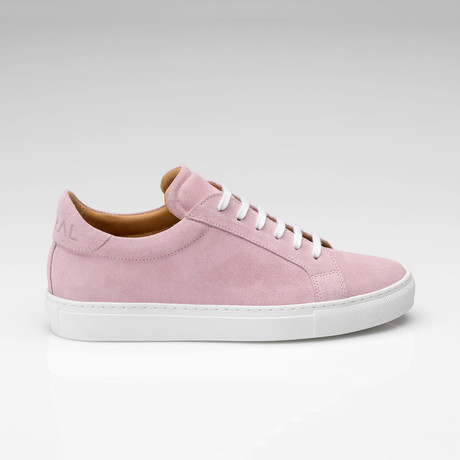 Suede Sneaker // Pink (UK: 7)