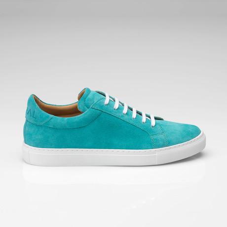 Suede Sneaker // Teal (UK: 7)