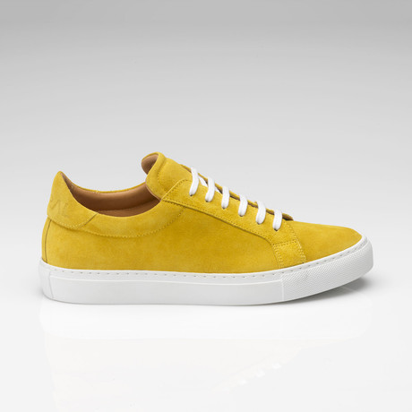 Suede Sneaker // Yellow (UK: 7)
