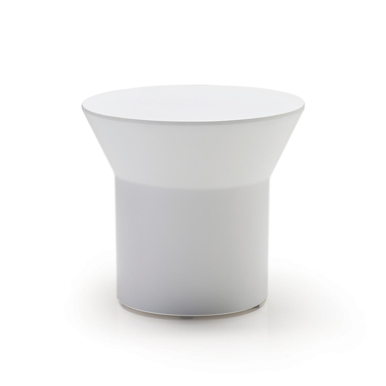 Gentil Boracay End Table // White