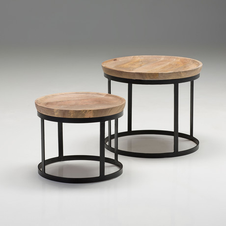 Olive 2 Piece End Table