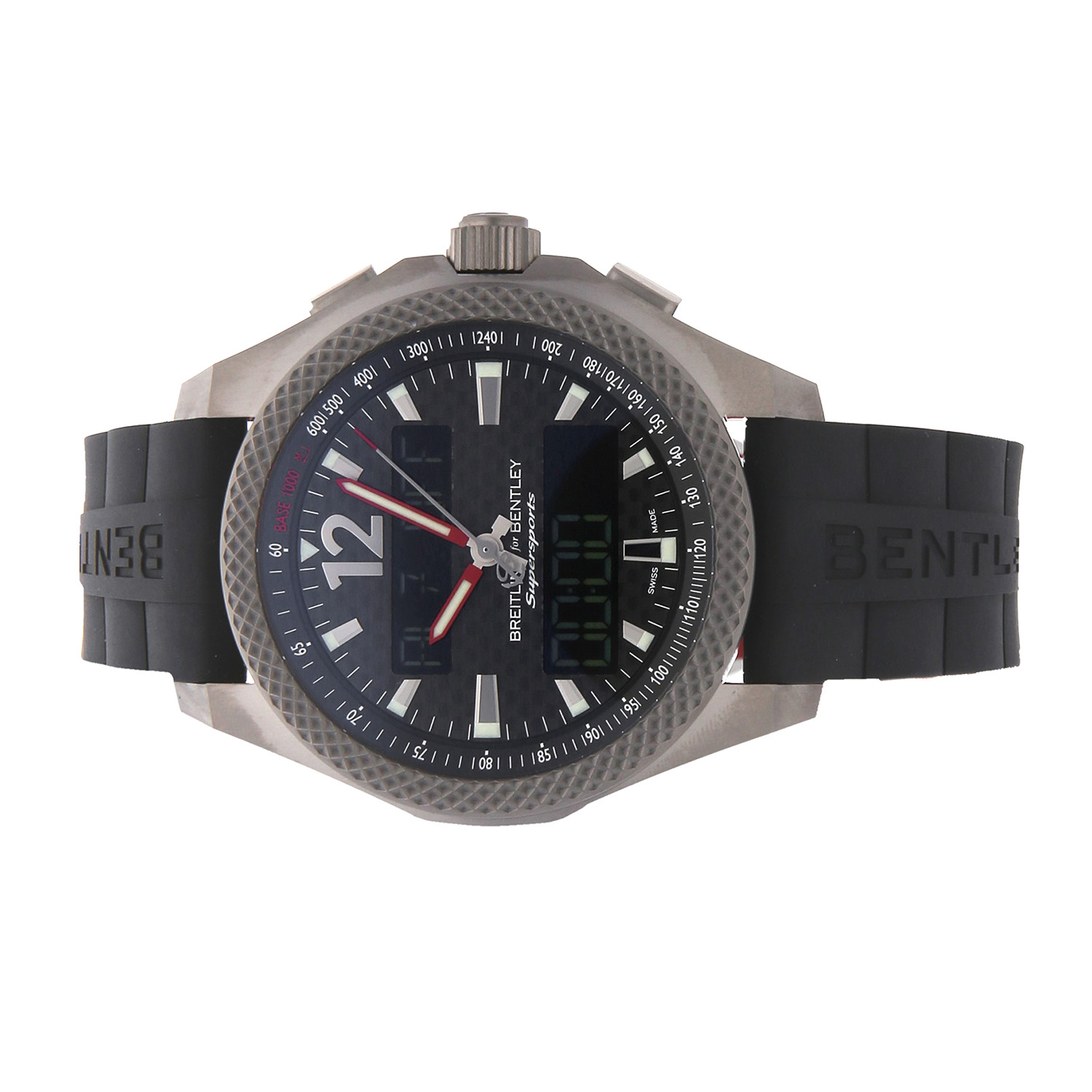 Pre Owned Bentley For Sale: Breitling Bentley Supersports Quartz // EB552022/BF47 // Pre-Owned