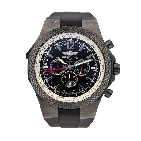 Breitling Bentley GMT Midnight Chronograph Automatic // M4736225/BC76 // Pre-Owned