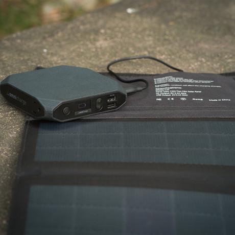 Omni20 + Solar Panel + Protective Case