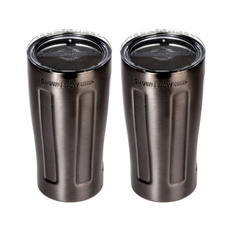 uPint Cups // Black // Set of 2