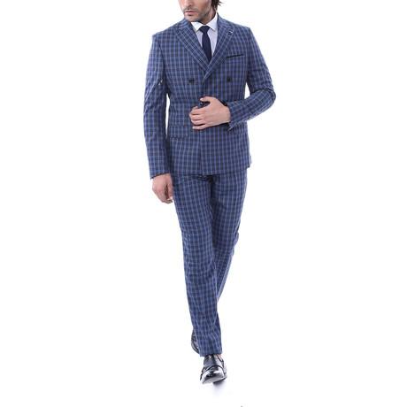Pierce 2 Piece Slim Fit Suit // Navy (Euro: 56)