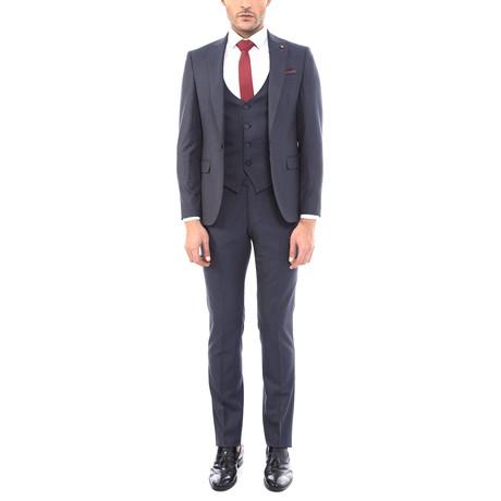Riley 3-Piece Slim Fit Suit // Dark Gray (Euro: 44)